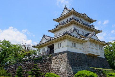 Odawara Castle in Kanagawa, Japan