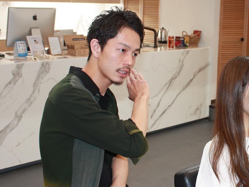 Lauguful(ラフル)のヘアースタイリスト安田さん