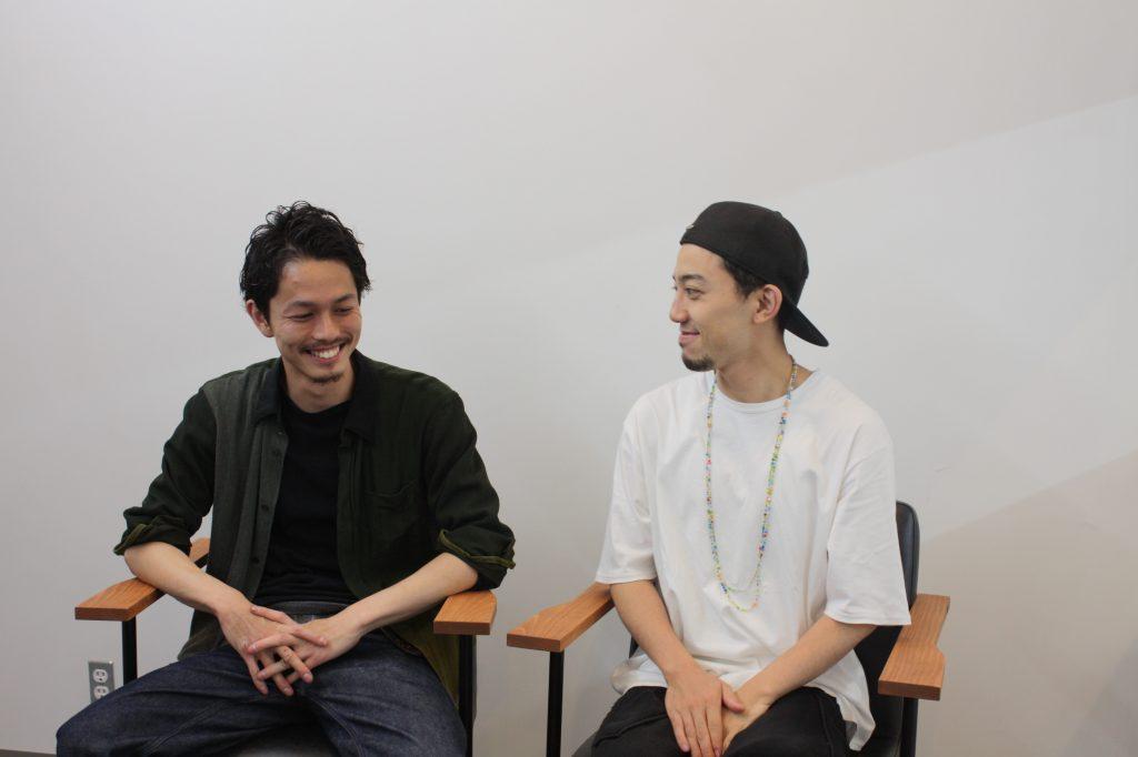 Laughful(ラフル)のスタイリスト安田さんと中村さん